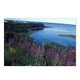 Gaspe peninsula Postcards