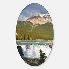 Athabasca River and waterfall in Ja Decal