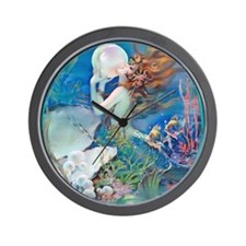 12 DEC Pillow CliveMermaid Wall Clock