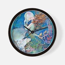 12 DEC Pillow CliveMermaid Wall Clock
