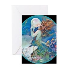 12 DEC Pillow CliveMermaid Greeting Card