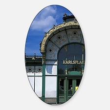 Designed by Otto Wagner. Karlsplatz Decal