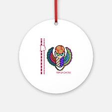 D-Lip Egypt4 Round Ornament