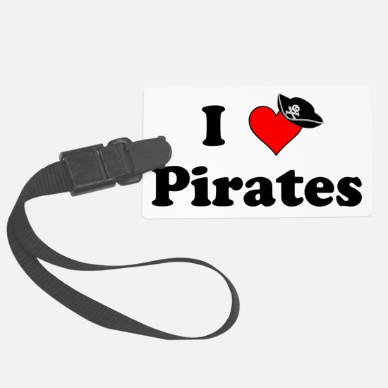 Heart-Pirates_Hat Luggage Tag