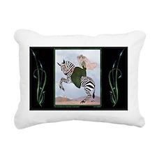 8 AUG MartyZebra ADB-Sen Rectangular Canvas Pillow