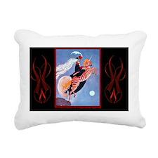 3 MARCH PLANK ZebraADB-S Rectangular Canvas Pillow