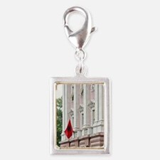 The House Parliament in Alba Silver Portrait Charm