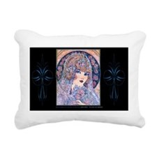 6 JUNE BrideVanArsdale A Rectangular Canvas Pillow