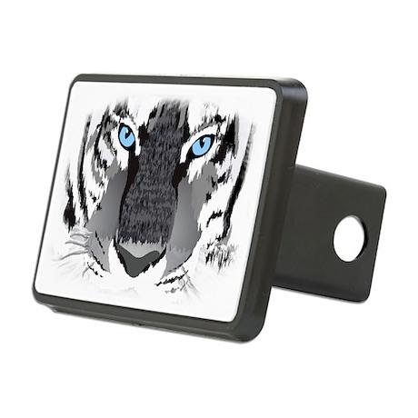 tiger copy Rectangular Hitch Cover