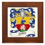 Zeller Coat of Arms Framed Tile