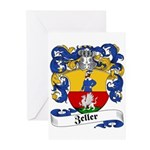 Zeller Coat of Arms Greeting Cards (Pk of 10)