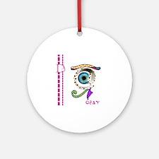 D-Lip Egypt8 Round Ornament