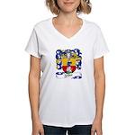 Zeller Coat of Arms Women's V-Neck T-Shirt