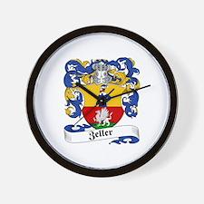 Zeller Coat of Arms Wall Clock