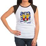 Zeller Coat of Arms Women's Cap Sleeve T-Shirt