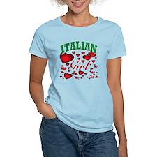italian girl(blk) T-Shirt