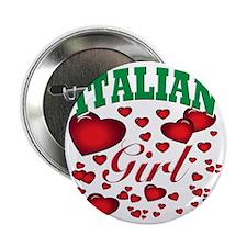 """italian girl(blk) 2.25"""" Button"""