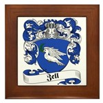 Zell Coat of Arms Framed Tile