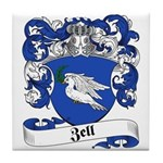 Zell Coat of Arms Tile Coaster
