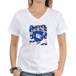 Zell Coat of Arms Women's V-Neck T-Shirt