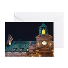 Montreal City Hall (Hotel de Ville)  Greeting Card