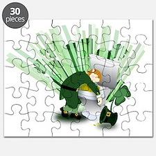 Passed Out Leprechaun Puzzle