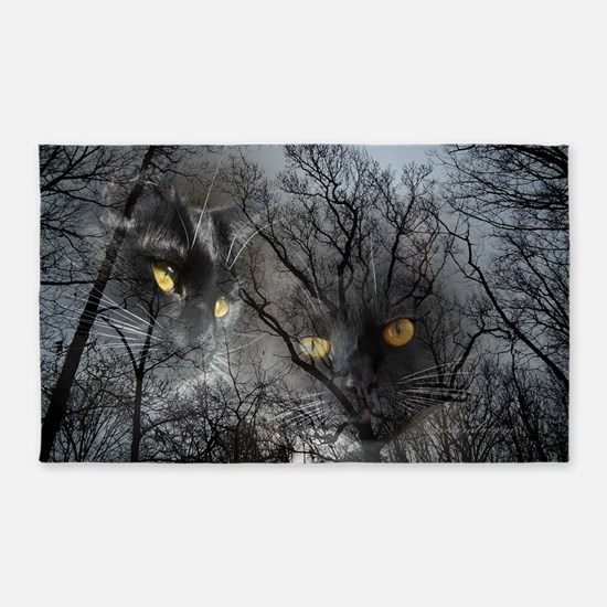 Enchanted forest 3'x5' Area Rug