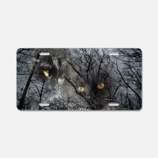 Enchanted forest Aluminum License Plate