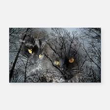 Enchanted forest Rectangle Car Magnet