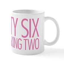 Twenty Six Point Freaking Two Stacked P Mug