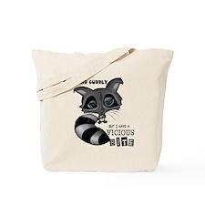 Raccoon Front Tote Bag