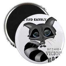 Raccoon Front Magnet
