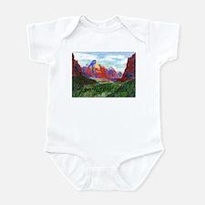 Zion: Down Canyon Infant Bodysuit