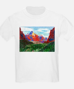 Zion: Down Canyon Kids T-Shirt