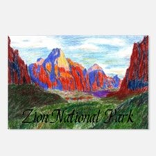 Zion: Down Canyon Postcards (Package of 8)