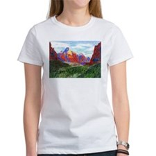 Zion: Down Canyon Tee