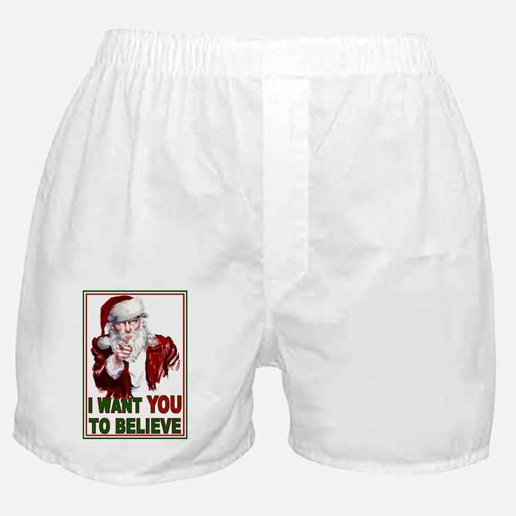 believe_magnet Boxer Shorts