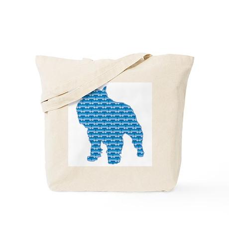 Bone Griffon Tote Bag