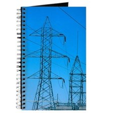 Power sub-station and transformers. Journal