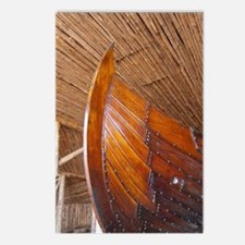 Norse boat house. Viking  Postcards (Package of 8)