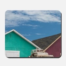 Malpeque Harbour. Fish sheds and lobster Mousepad