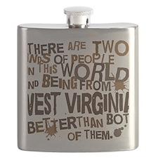 west_virginia_brown Flask