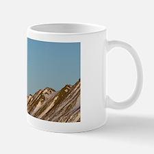 Winter landscape on Herschel island, on Mug