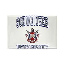SCHWEITZER University Rectangle Magnet