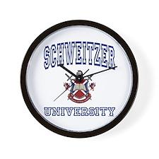 SCHWEITZER University Wall Clock