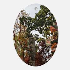 CANADA, British Columbia, Victoria.  Oval Ornament