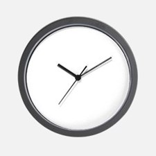 washington_white Wall Clock