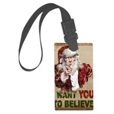 believe_poster Luggage Tag