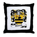 Wunsch Coat of Arms Throw Pillow