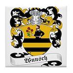 Wunsch Coat of Arms Tile Coaster